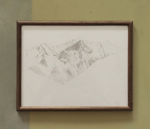 I went to the Alps and made a drawing for you